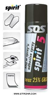 Spirit 5 Strong - Sublimation Glue - Spray 500 ml